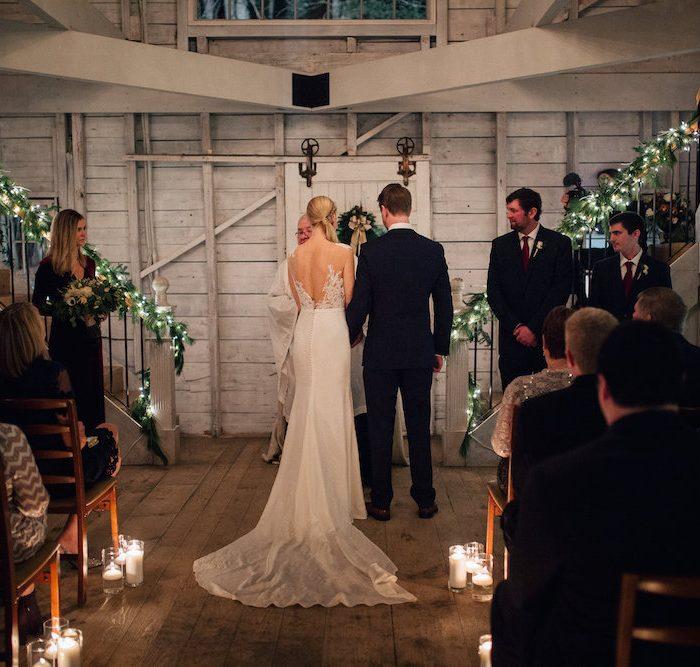 Kat & David Holiday Wedding