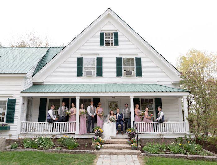 Megan & Kyle Spring Wedding