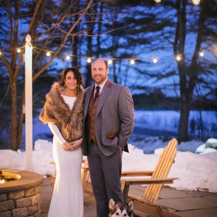 Jessi & Danny Holiday Wedding