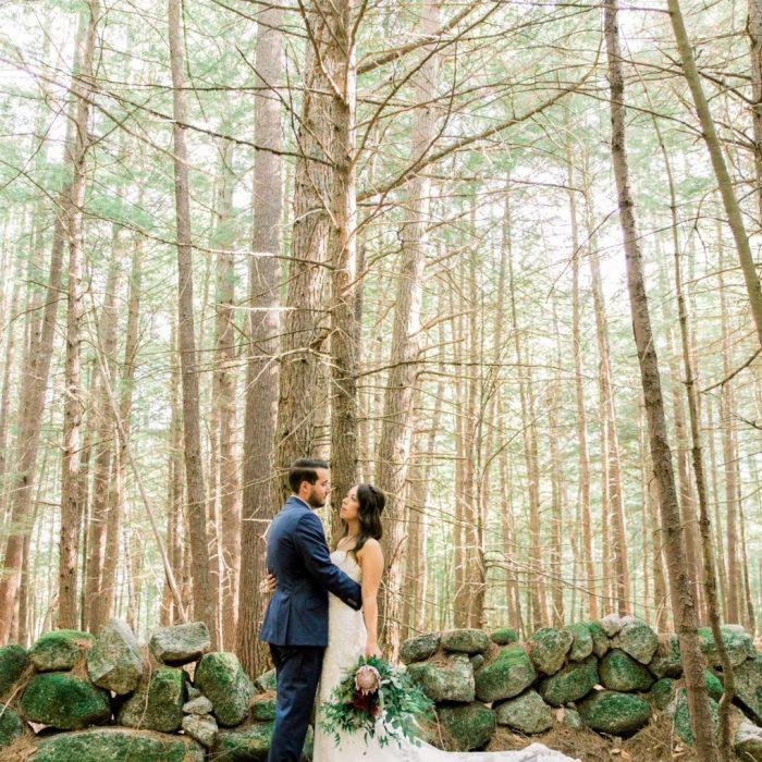 Romantic Weddings in the Woods